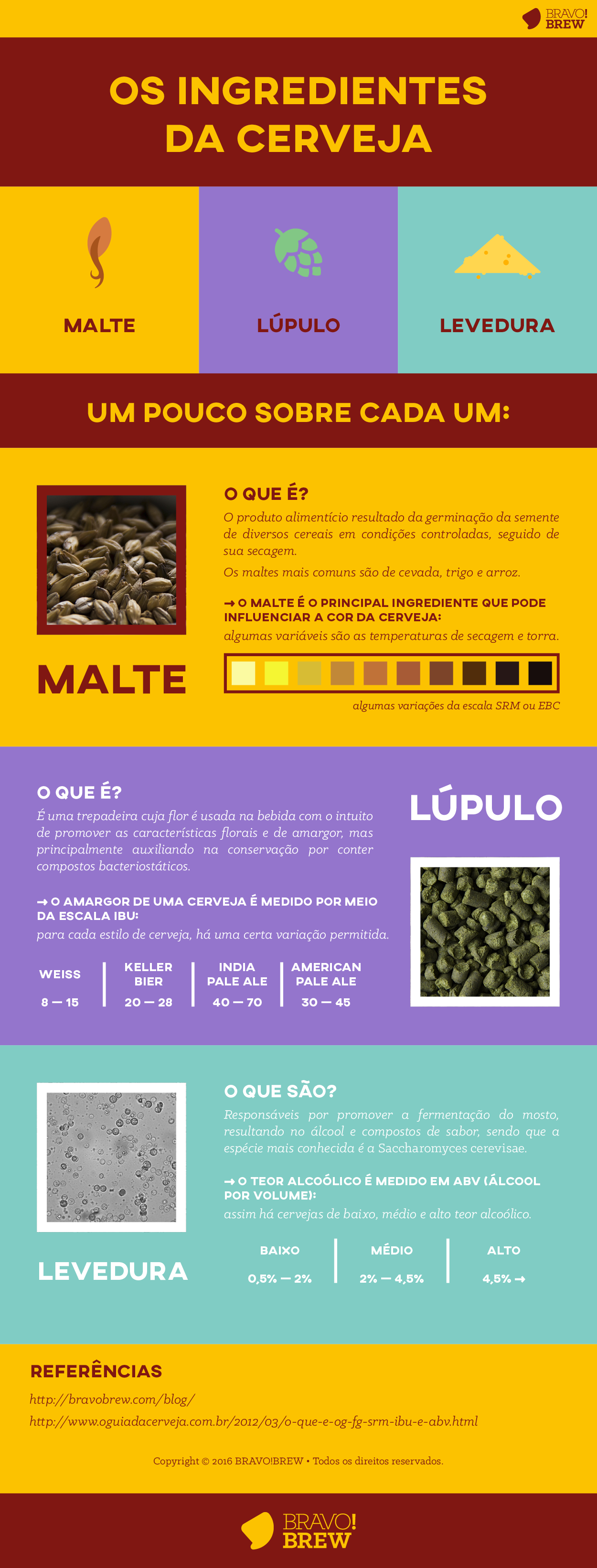 Infográfico Ingredientes